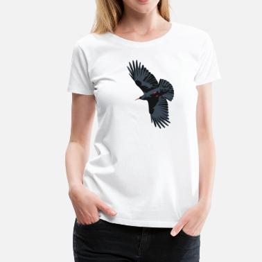 Red Billed Chough 1 - Women's Premium T-Shirt
