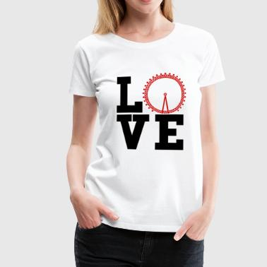i love london - Frauen Premium T-Shirt