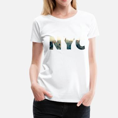 New York City nyc New York City - Frauen Premium T-Shirt