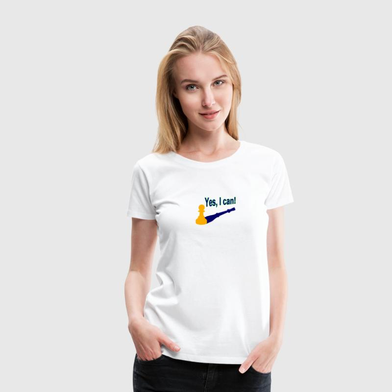 Yes, I can! 2 - Frauen Premium T-Shirt
