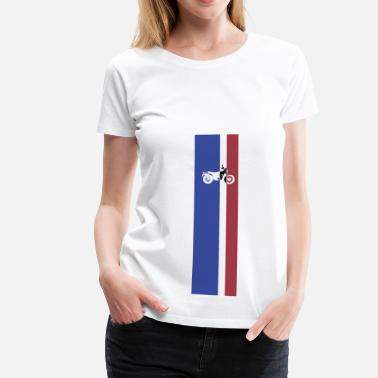K7 VanVan K7 Color Stripes - Camiseta premium mujer