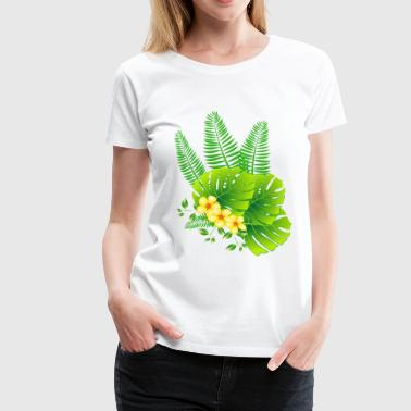 tropical - Frauen Premium T-Shirt