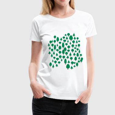 forest - Women's Premium T-Shirt