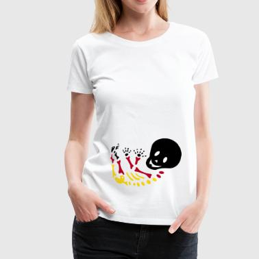 BabySkelett World Cup Edition - Frauen Premium T-Shirt