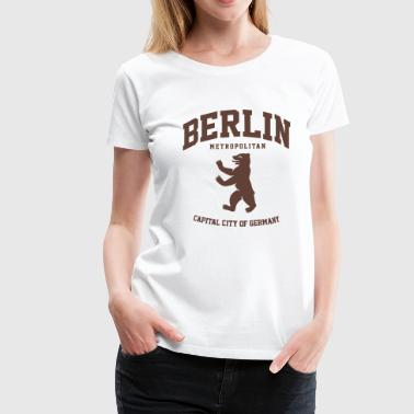 BERLIN METROPOLITAN CITY - Frauen Premium T-Shirt