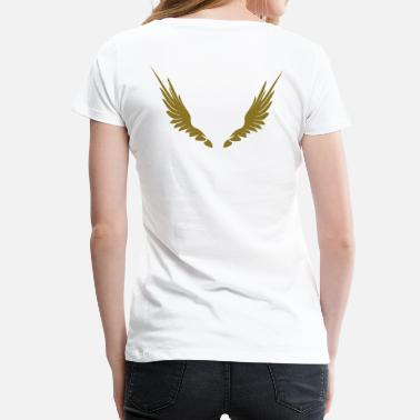 Angelwings Wings_2 - Women's Premium T-Shirt