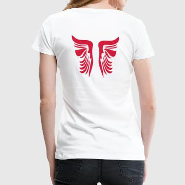 wings - Frauen Premium T-Shirt