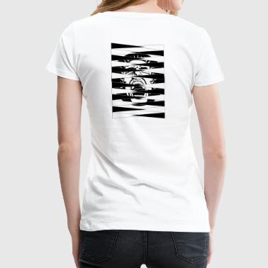 Scream BackGammon T-Shirt - Women's Premium T-Shirt