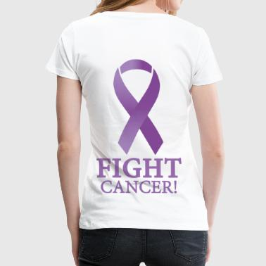 Fight Cancer - Frauen Premium T-Shirt