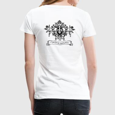 KITSCH AS KITSCH CAN - Dame premium T-shirt