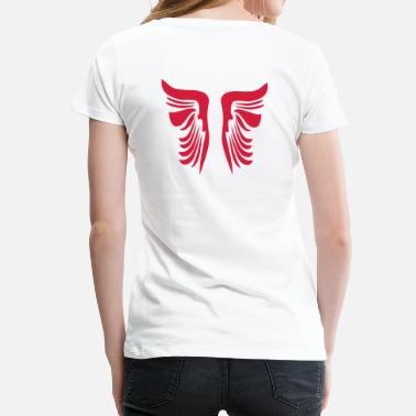 Wings wings - Frauen Premium T-Shirt