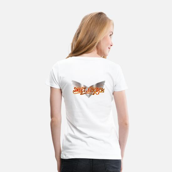 Emotion T-Shirts - Sweet Emotion 1 - Women's Premium T-Shirt white