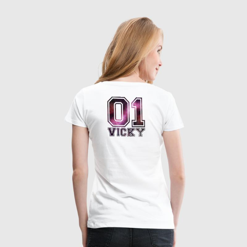 Vicky name - Women's Premium T-Shirt
