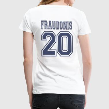 FRAUDONIS 20 + ADONIS 10 PARTNERSHIRT - Women's Premium T-Shirt