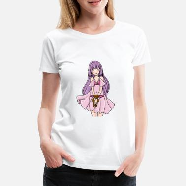 Fetish cute girl Little Brat Adult Baby Girl ddlg - Women's Premium T-Shirt