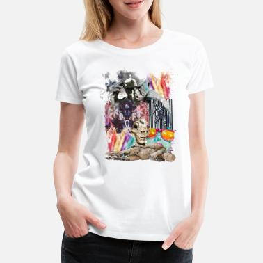 Pop Pop-Art - Frauen Premium T-Shirt