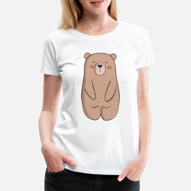 Gift Happy bear - Vrouwen premium T-shirt