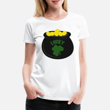 Pot Of Gold Pot of gold - Women's Premium T-Shirt