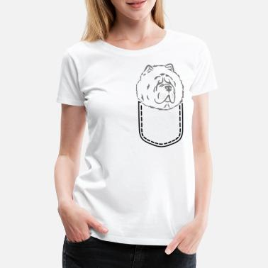Pocket Chow Chow - Women's Premium T-Shirt