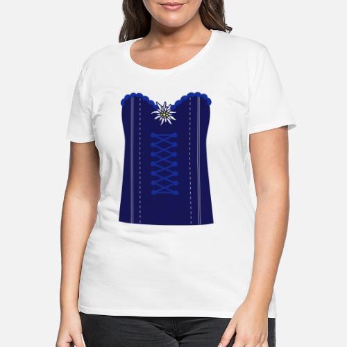 f2f2cc5cba Dirndl Frauen Premium T-Shirt | Spreadshirt