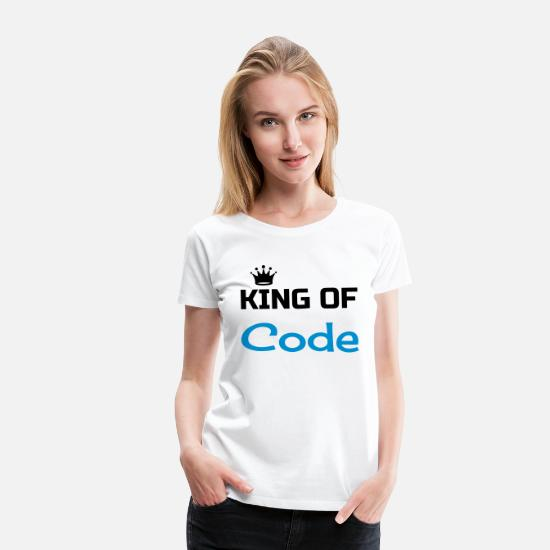 Code T-Shirts - Developer Entwickler Développeur Computer Geek - Women's Premium T-Shirt white