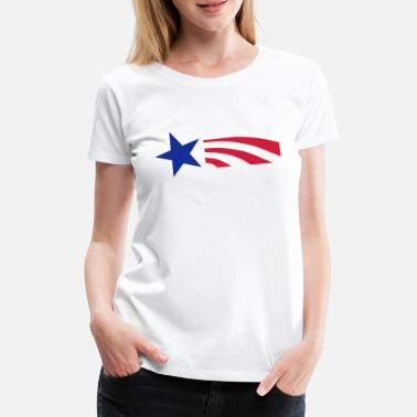 Stars Star and Stripes - Premium T-skjorte for kvinner