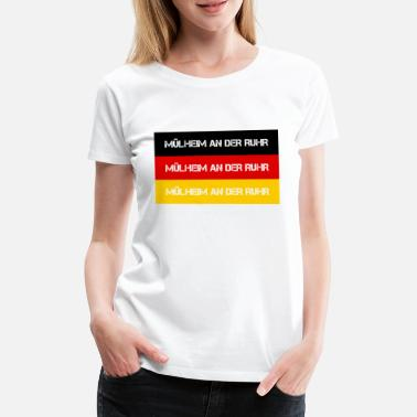 Ruhr City CITY CITY OF RUHR, GERMANY - Women's Premium T-Shirt