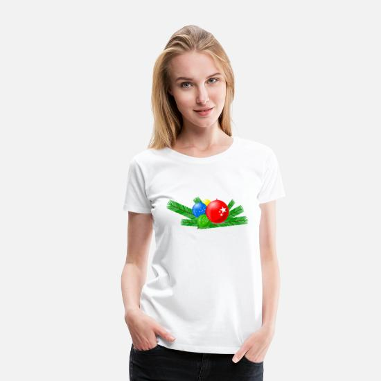 Jewelry T-Shirts - decoration - Women's Premium T-Shirt white