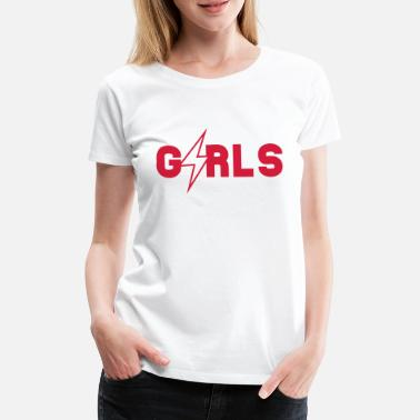 Girlie GIRLS - Premium T-shirt dam