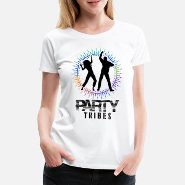 Entertainment Party people celebration mood celebration fun music alcohol - Women's Premium T-Shirt