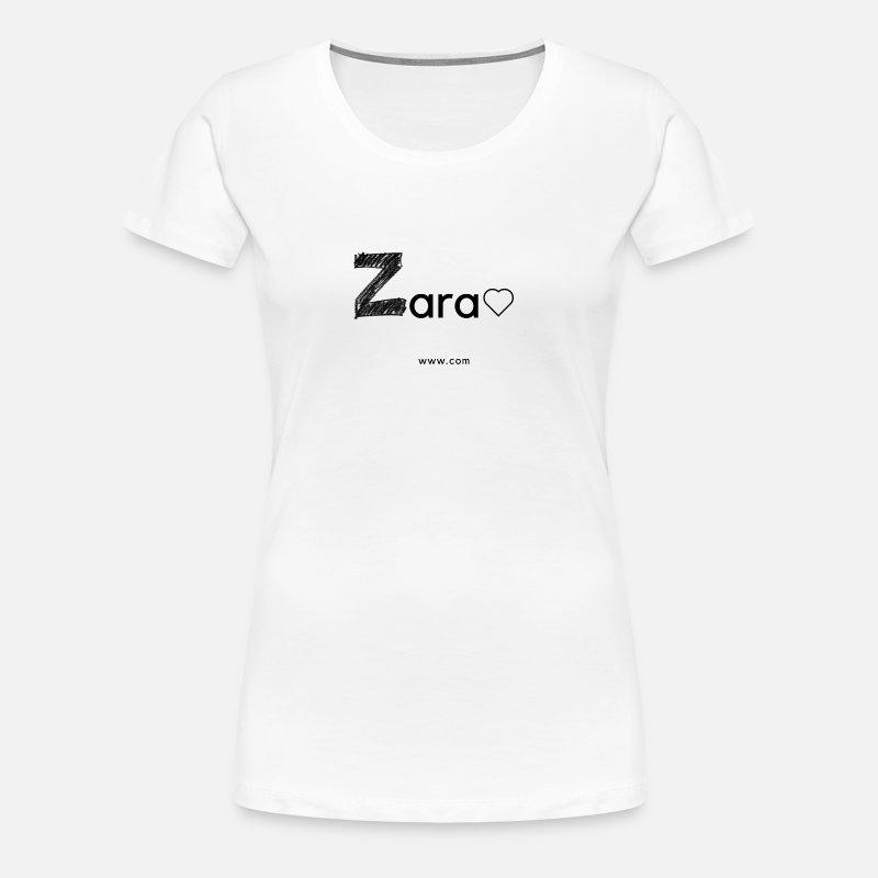 Zara T Shirt Premium Femme Rose QtrshdC
