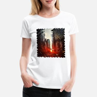 Creative City City - Women's Premium T-Shirt