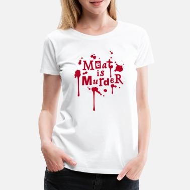 The Smiths meatismurder01_225x225 - T-shirt Premium Femme