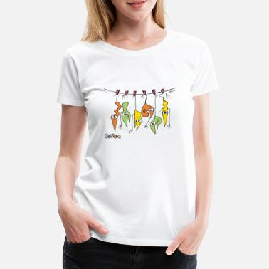 Skewer Skewer Shadoks - Women's Premium T-Shirt