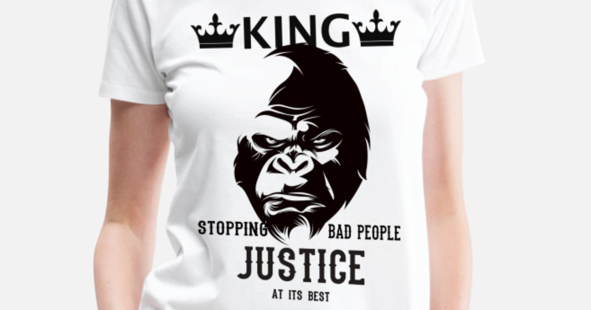 1f351d04 Gorilla King Women's Premium T-Shirt   Spreadshirt