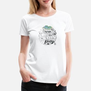 Travel Travel - Women's Premium T-Shirt