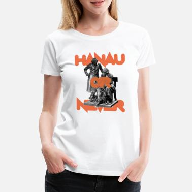 Märchenonkel HANAU OR NEVER - original orange - Frauen Premium T-Shirt