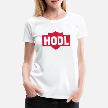 Nano Coin HODL TO THE MOON - Women's Premium T-Shirt