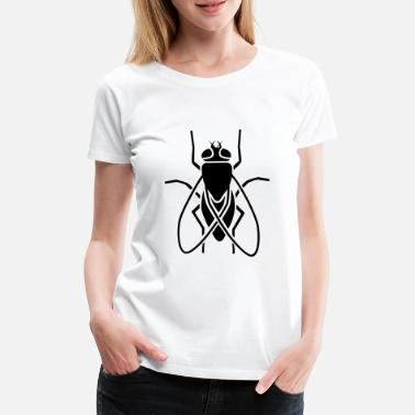 Fly Insect - fly - Women's Premium T-Shirt