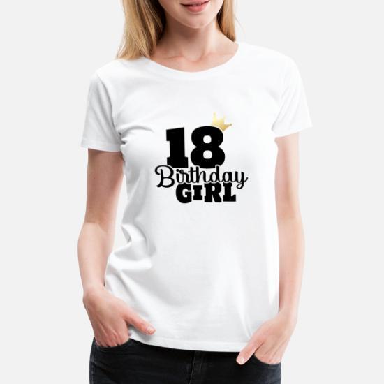 18 Verjaardag 2001 Jaar Meisje Vrouw Cadeau Idee Vrouwen