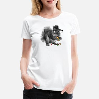 Rubiks Cube Kids Rubik's Squirrel - Women's Premium T-Shirt