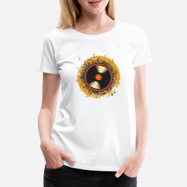 Recording Record - Women's Premium T-Shirt