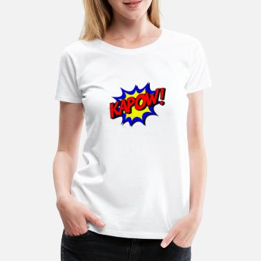 Comic KAPOW! - Women's Premium T-Shirt