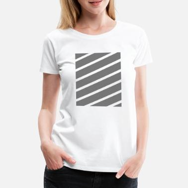 Stripe Stripes - Premium T-skjorte for kvinner