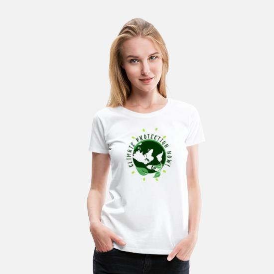 Enviromental T-Shirts - Environmental protection Nature conservation - Women's Premium T-Shirt white