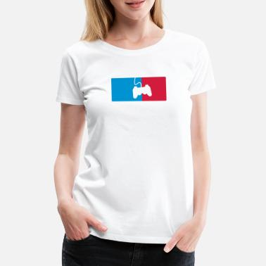 League Game Gaming League - Women's Premium T-Shirt