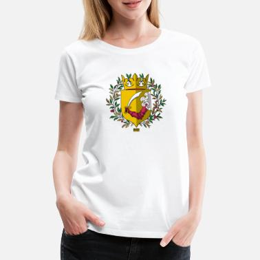 Ottoman Empire Ottoman Empire Bosna i Hercegovina Coat of Arms 1878 - Women's Premium T-Shirt