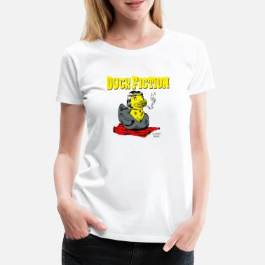 Fiction Duck Fiction - Frauen Premium T-Shirt