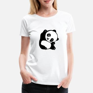 panda new - Women's Premium T-Shirt