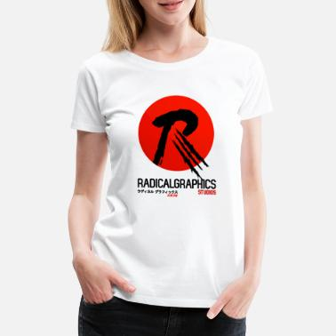 Radical RadLogoVerticalRed - Women's Premium T-Shirt